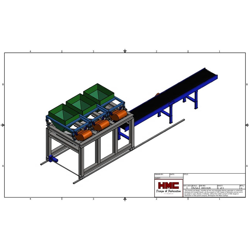Engineering and fabrication drawing